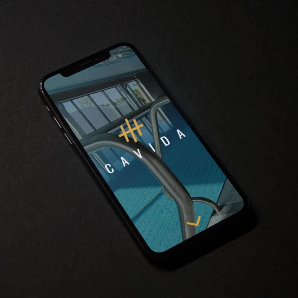 webbdesign cavida mobil